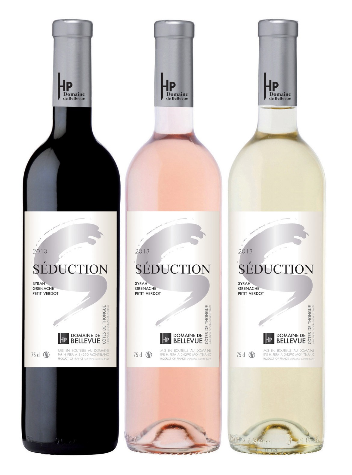 étiquettes vin hp séduction