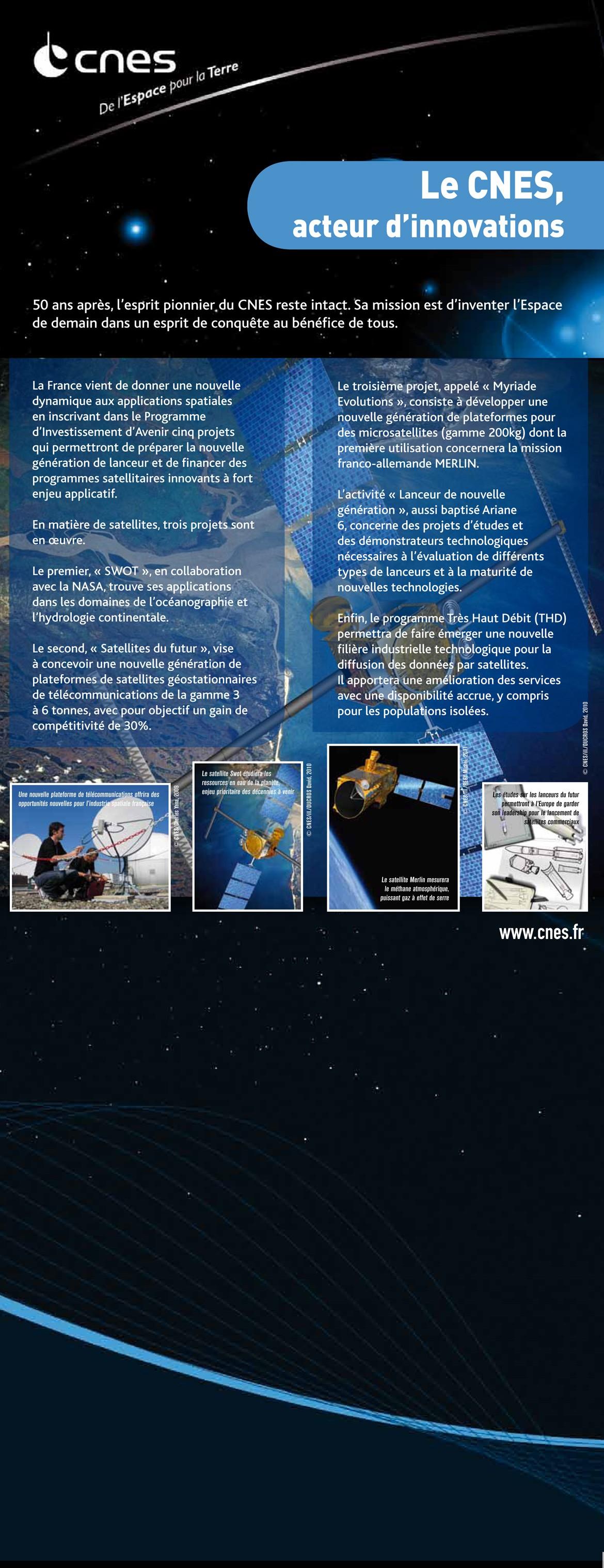 CNES Panneaux anniversaire Mediatec