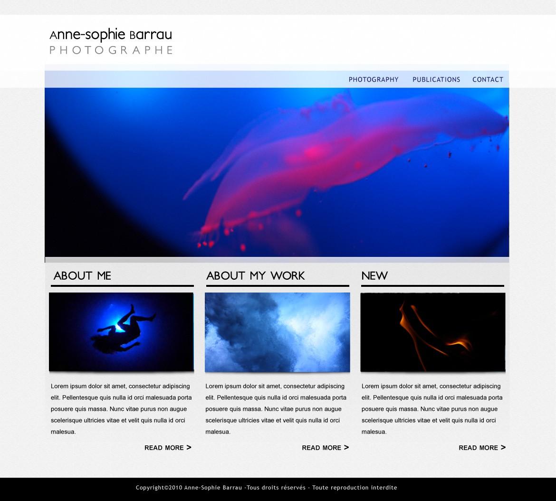 Anne-Sophie Barreau Page accueil