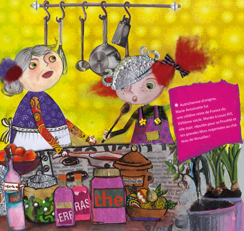Antoinette livre enfants