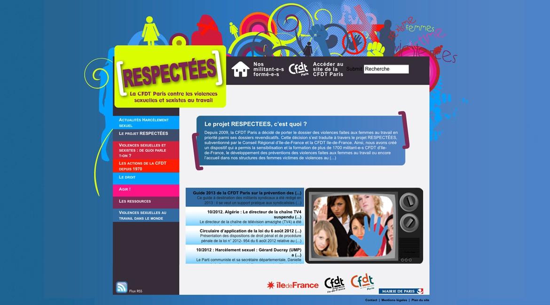 Respectées site web